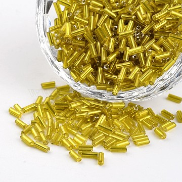 5mm Gold Glass Beads