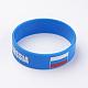 Silicone Wristbands Bracelets(BJEW-K168-01K)-1