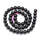 Natural Garnet Beads Strands(G-S150-29-4mm)-2