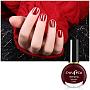 10ml Eco-Friendly Nail Polish, Soak Off Nail Polish, Nail Art Accessories, Dark Red, 3.7x6.8cm