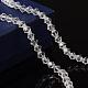 Half-Handmade Transparent Glass Beads Strands(X-GB4mmC01)-1