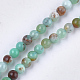 Natural Australia Jade/Chrysoprase Beads Strands(G-S333-4mm-037)-1