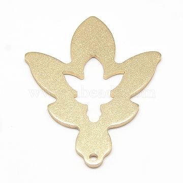 Golden Leaf Aluminum Big Pendants