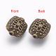 Tibetan Style Alloy Beads(X-MLF5179Y-NF)-2