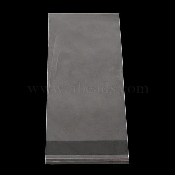Rectangle OPP Cellophane Bags, Clear, 24x7cm; Unilateral Thickness: 0.035mm; Inner Measure: 21x7cm(OPC-R012-85)