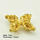 Brass Buddhist Pendants(X-KK-K053-G)-2