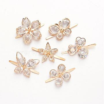Light Gold Others Iron Shoe Buckle Clips