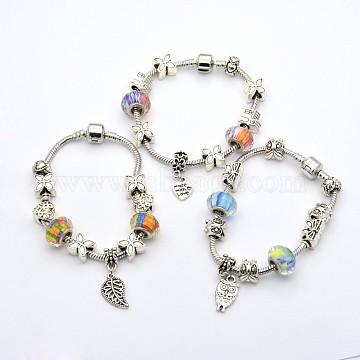 Mixed Color Alloy+Brass Bracelets