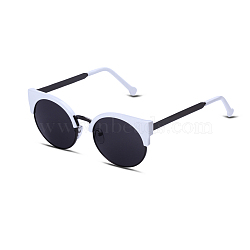 Trendy Sunglasses, Alloy Frames and Resin Lenses, Black, 13.5x5cm(SG-BB22052)