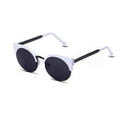модные солнцезащитные очки, рамы из сплавов и смоляные линзы, черный, 13.5x5 cm(SG-BB22052)