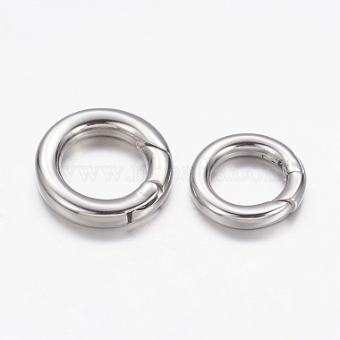 Platinum Stainless Steel Clasps