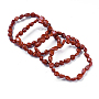 Pierre Rouge Bracelets(X-BJEW-K213-19)