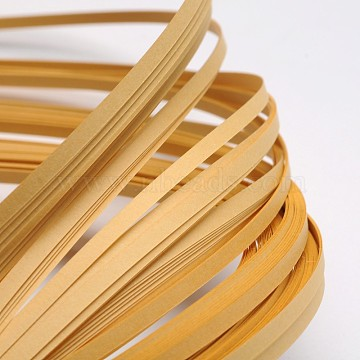 Quilling Paper Strips, BurlyWood, 390x3mm; about 120strips/bag(DIY-J001-3mm-B22)