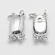 925 Sterling Silver Box Clasps(STER-E056-075P)-3