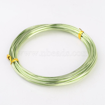 Aluminum Wire,Light Green,about 1.5mm thick,6m/roll(X-AW6X1.5MM-08)