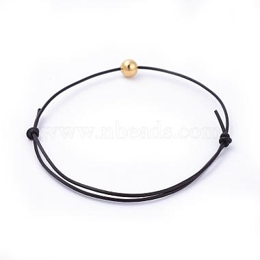 Adjustable Cowhide Leather Cord Bracelets(BJEW-JB04373)-4