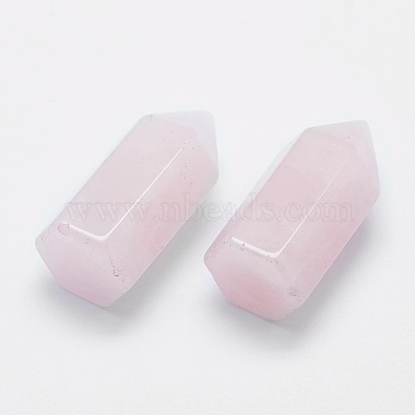 Natural Rose Quartz Pointed Beads(X-G-G760-K20)-1