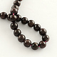 Natural Garnet Gemstone Bead Strands(X-G-R263-8mm)-2