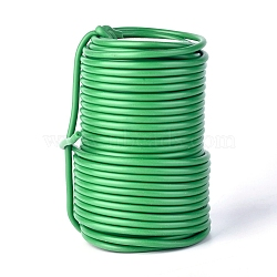 Reusable Garden Plant Twist Tie, Heavy Duty Soft Wire Tie, for Gardening, Home, Office, Green, 3.5mm, about 20m/roll(MW-WH0001-01C)