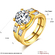 Trendy Brass Cubic Zirconia Wide Band Rings(RJEW-BB20675-G-6)-1