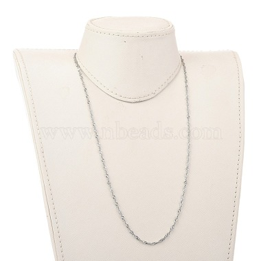 304 Stainless Steel Singapore Chain Necklaces(NJEW-JN02930-04)-4