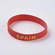 Silicone Bracelets Wristband Souvenir(BJEW-TA0002-04H)-2