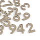 304 Stainless Steel Number Charms(STAS-S035-M)-1