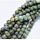 Natural African Turquoise Beads Strands(X-G-D840-90-10mm)-4