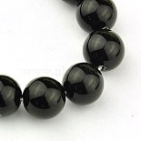 4mm Black Rhombus Black Stone Beads(GSR4mmC044)