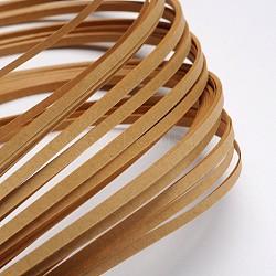 Bandes de papier quilling, tan, 390x3mm; à propos 120strips / sac(X-DIY-J001-3mm-B21)
