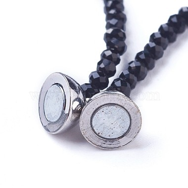 Natural Howlite Necklaces(NJEW-G323-01)-4