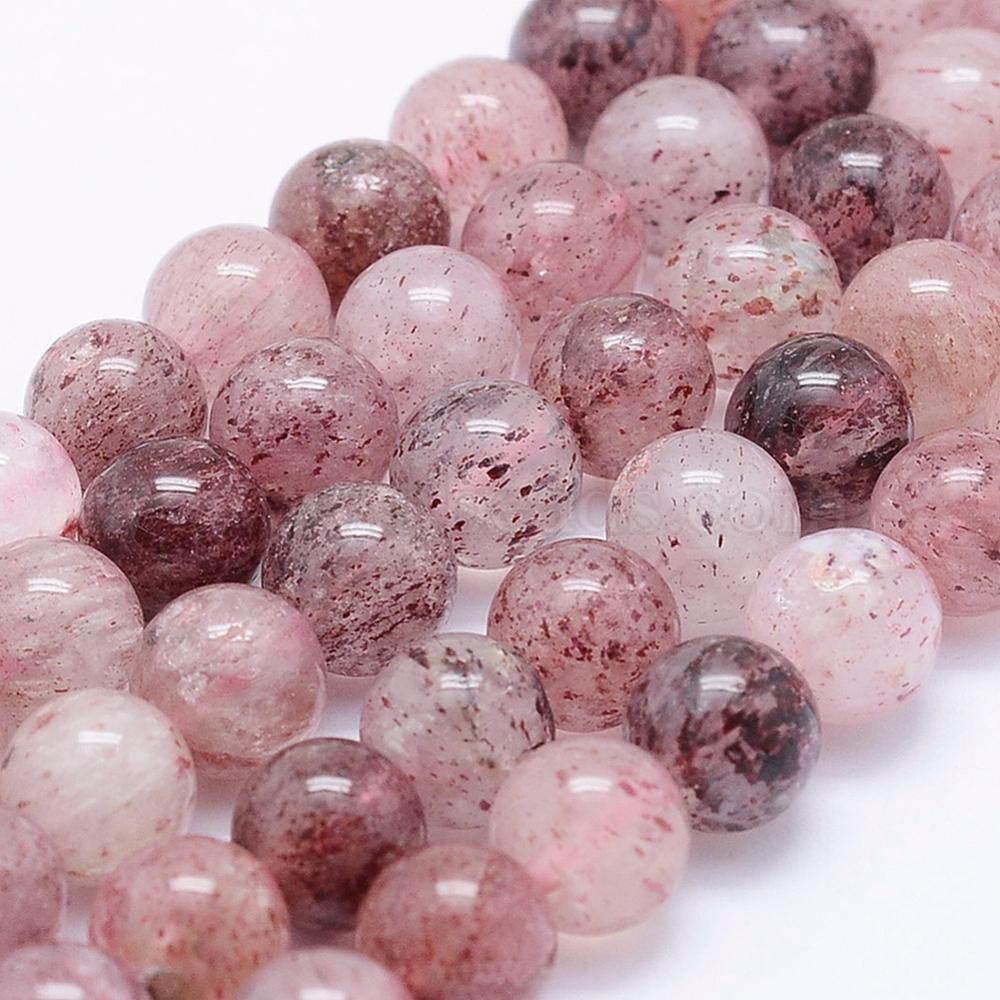 Green Strawberry Quartz Gemstone Beads 8X10 MM Fancy Shape 10 pecs GU-762