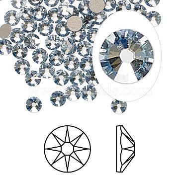 Austrian Crystal Rhinestone, 2088, Crystal Passions, Foil Back, Xirius Rose, 001 BLSH_Crystal Blue Shade, 6.32~6.5mm(2088-SS30-001BLSH(F))