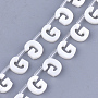 Freshwater Shell Beads, Top Drilled Beads, Letter.G, 10x8x3mm, Hole: 0.8mm