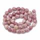 Natural Rhodochrosite Beads Strands(G-S332-12mm-007)-3