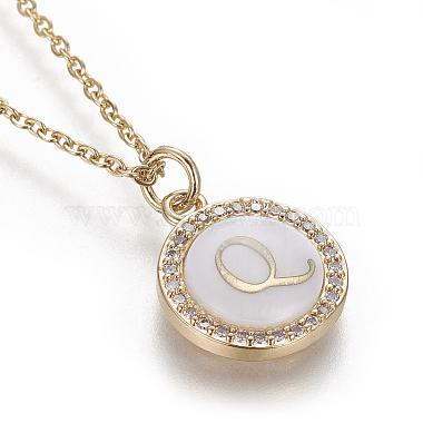 Brass Initial Pendant Necklaces(NJEW-I230-24G-Q)-3