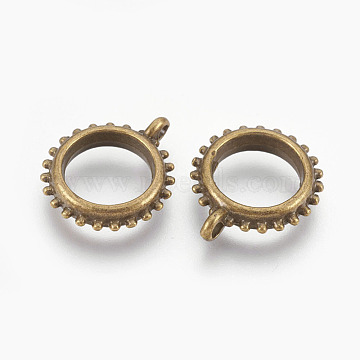 Antique Bronze Ring Alloy Toggle and Tbars