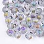 Colorful Round Glass Beads(EGLA-S178-01-01E)