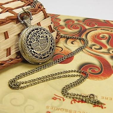Модные часы карманные железа(WACH-G006-M2)-2