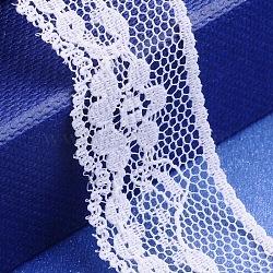 """Fil de nylon de garniture de dentelle pour la fabrication de bijoux, blanc, 7/8"""" (21 mm); 300yards / roll (274.32m / roll)(X-OCOR-I001-076)"""