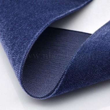 Polyester Velvet Ribbon for Gift Packing and Festival Decoration(SRIB-M001-19mm-370)-2