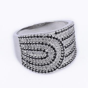 Brass+Cubic Zirconia Finger Rings