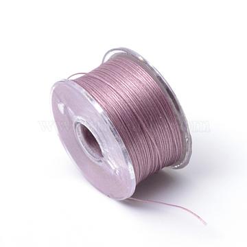 0.1mm OldRose Polyacrylonitrile Fiber Thread & Cord