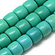 Synthetic Turquoise Beads Strands(G-Q954-12-8x10)-1