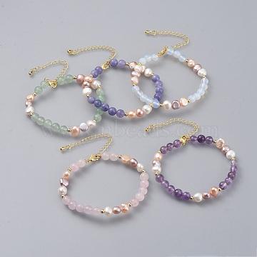 Mixed Stone Bracelets