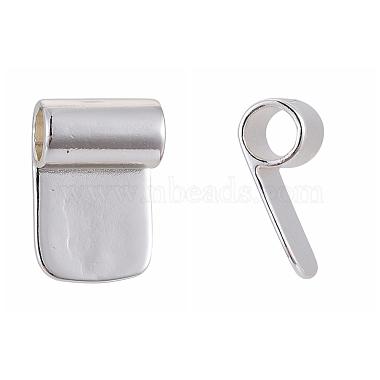 Brass Glue-on Flat Pad Bails(X-KK-D519-B-S)-2