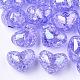 Transparent Crackle Acrylic Beads(TACR-S148-04D)-1