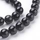Perles en obsidienne naturelle(G-G099-8mm-24)-3