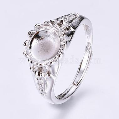 Adjustable Brass Finger Ring Components(KK-L154-02P)-2